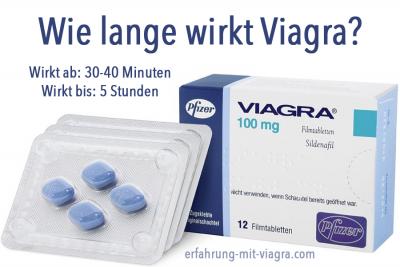 Viagra - Wie lange steht er?
