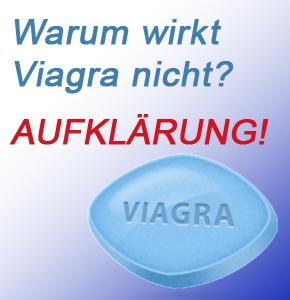 warum wirkt viagra nicht